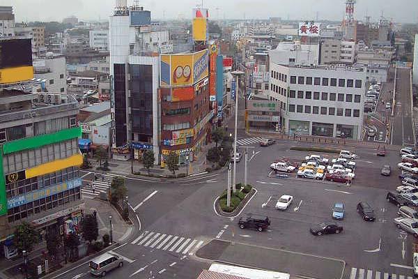 JR小山駅、SL、小山市役所、小山文化センター、日本製粉解体 ...